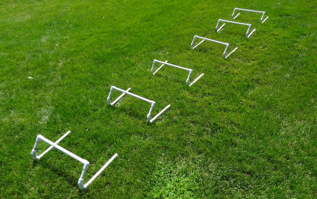 Make your own Speed / Agility Mini Hurdles – Lift and Simmer